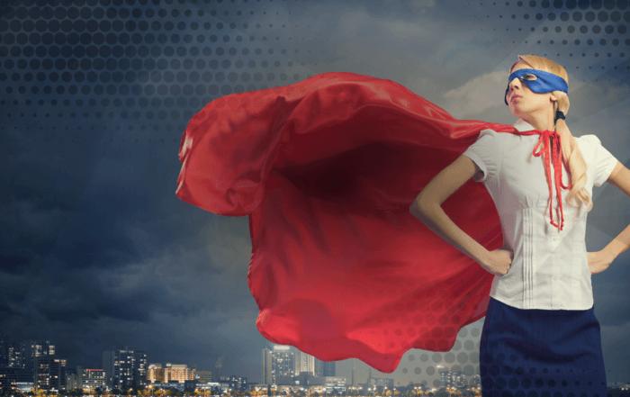 Image of superhero